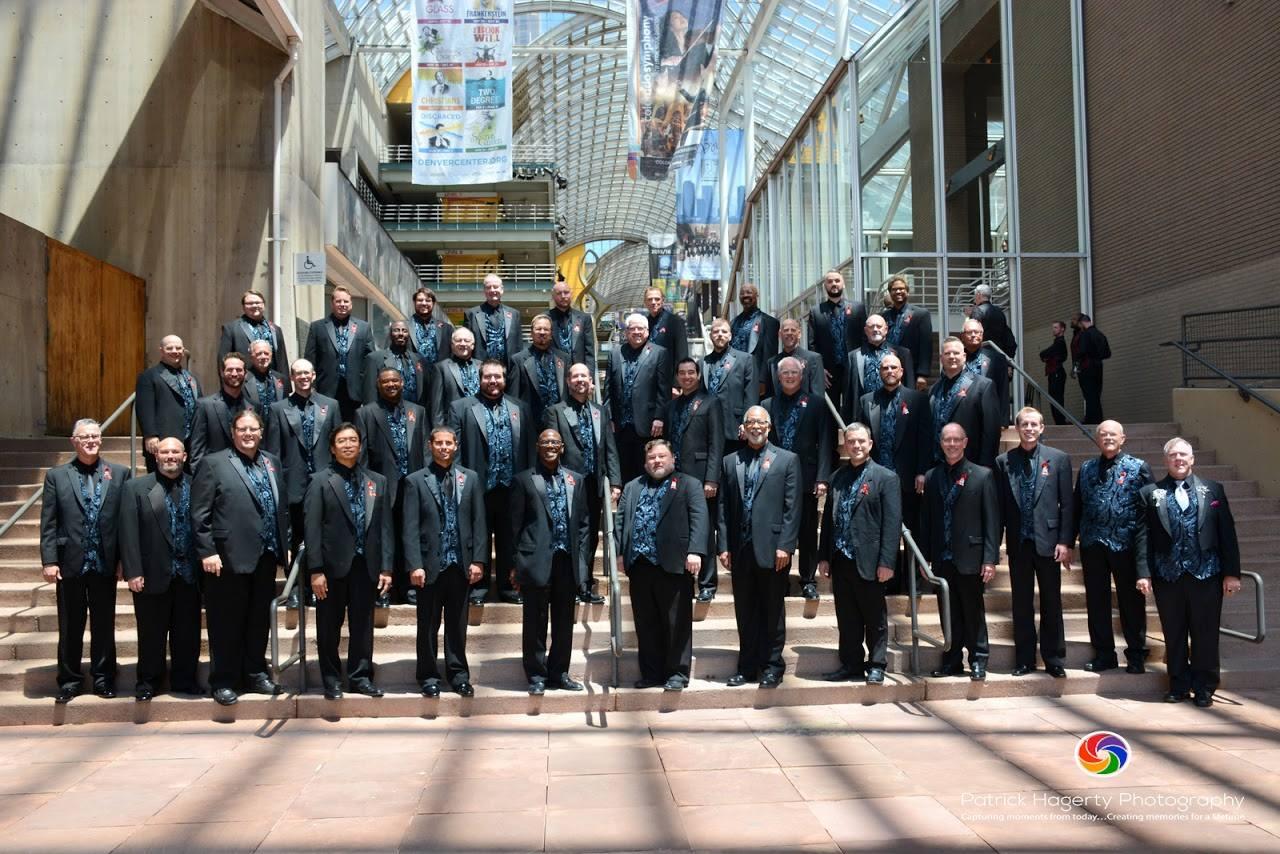 Cincinnati Men's Chorus at 2016 GALA