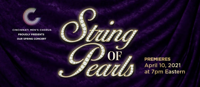 String of Pearls Premieres April 10 at 7 PM Eastern Time
